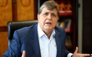 Caso 'Petroaudios': Alan García no acudirá hoy a juicio oral