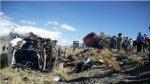 Puno: mueren dos trabajadores de gobierno regional en accidente - Noticias de wilber medina