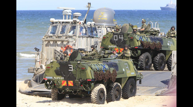 La OTAN hace ejercicios de guerra en Polonia y países bálticos