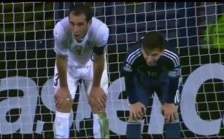 Lionel Messi y la curiosa sincronización con Diego Godín