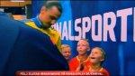 Zlatan Ibrahimovic: la increíble reacción de dos niños al verlo - Noticias de zlatan ibrahimovic