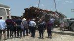 Mortal choque de tren con camión en Túnez - Noticias de accidente muerto