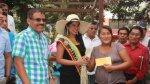 Piura: premian a la mejor tejedora de paja toquilla en Catacaos - Noticias de ralph zapata