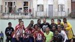 Sergio Ramos y un gran gesto: jugó fútbol con niños cubanos - Noticias de selección infantil