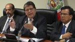 Alan García se juega la nulidad de informes de megacomisión - Noticias de wilber medina
