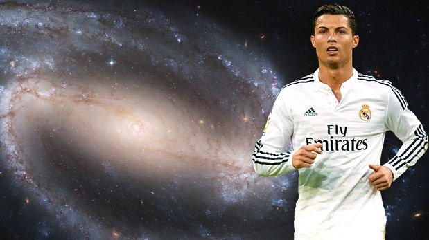 Cristiano Ronaldo: ¿galaxia se llama CR7 en su honor?