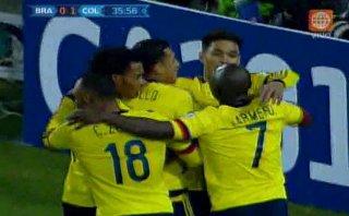 Brasil vs. Colombia: Murillo anotó el 1-0 para 'cafeteros'