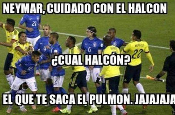 Brasil vs. Colombia: los memes que dejó la caída del 'Scratch'