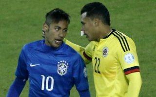 Neymar suspendido una fecha tras gresca en el Brasil-Colombia