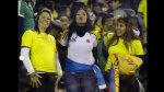 Brasil vs. Colombia: fiesta en las tribunas del Monumental - Noticias de mundial brasil 2014