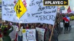 Chile: miles de maestros marcharon contra reforma de Bachelet - Noticias de huelga policial