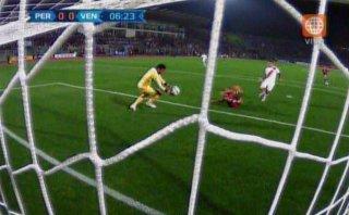 Perú vs. Venezuela: Salomón Rondón falló sin marca ante Gallese
