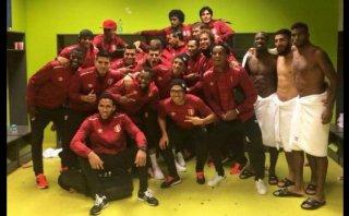 Selección peruana: la foto de vestuario tras ganar a Venezuela