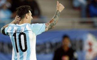 Messi ante Jamaica disputará su partido 100 con Argentina