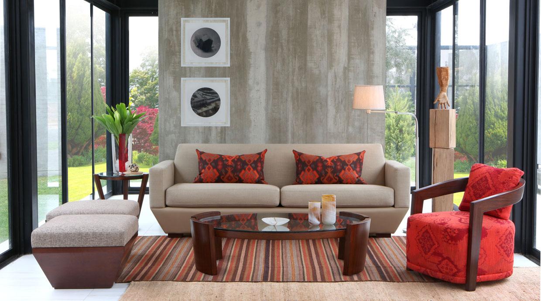 Ambiente C Modo Cinco Ideas De Pufs Para La Sala Foto Galeria 1  # Muebles Ferrini