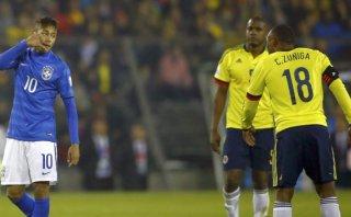 El insulto de Neymar a Camilo Zúñiga en el Brasil-Colombia