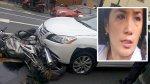 Abogada que arrolló a policías en San Isidro pidió disculpas - Noticias de muere atropellado