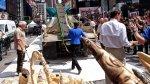 EE.UU. destruye una tonelada de marfil en pleno corazón de NY - Noticias de filipinas destruccion