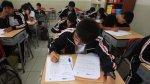 Escolares dan prueba de selección para Olimpiada de Matemáticas - Noticias de ministerio de educación