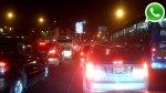 WhatsApp: intenso tráfico en Javier Prado por caída de árbol - Noticias de tráfico vehicular