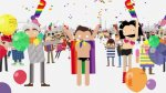 YouTube: Android organiza desfile virtual por el orgullo gay - Noticias de jesse tyler ferguson