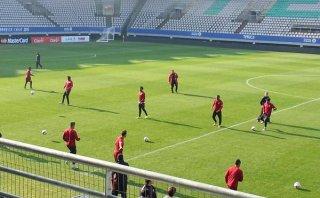 Selección peruana: Farfán se recuperó y volvió a entrenar