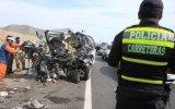 Huacho: tres muertos dejaron accidentes en Panamericana Norte