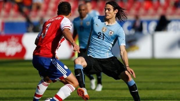 Paraguay vs Uruguay 1-1 PT