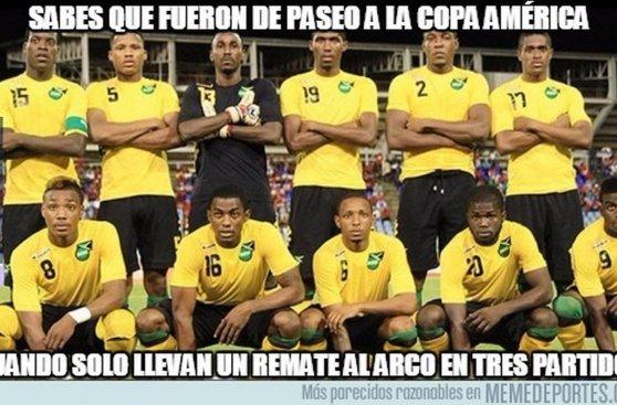 Copa América: memes tras la victoria de Argentina sobre Jamaica