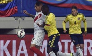 Perú empató 0-0 con Colombia y clasificó a cuartos de final