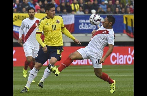 Perú vs. Colombia: las mejores imágenes del empate en Temuco