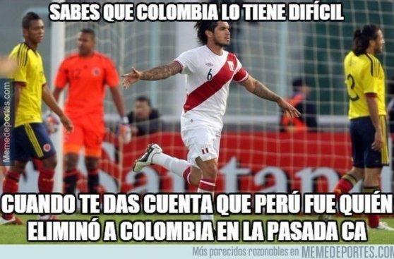 Perú vs. Colombia: memes tras pase de la 'bicolor' a cuartos