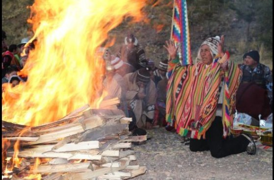 Puno celebró el Año Nuevo andino con ceremonias y rituales