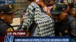 Abogada que arrolló a policías fue llevada a carceleta judicial - Noticias de inpe