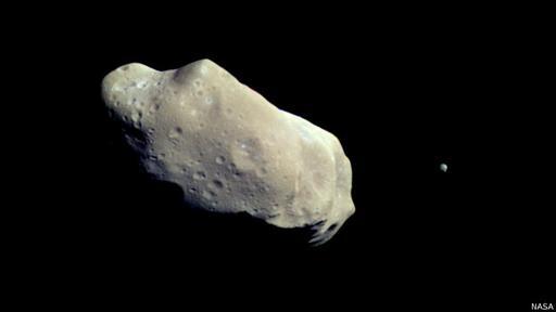 Se debería a las particulas liberadas por cometas, no asteroides.