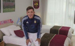 Lionel Messi: humorista realizó genial imitación del argentino