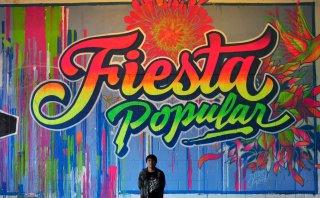 Peruano Elliot Túpac lleva el arte de sus murales hasta Londres