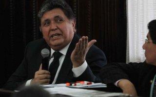 Alan García declara hoy como testigo en Caso 'Petroaudios'