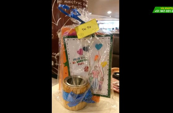 WhatsApp: regalo por el Día del Padre llegó a manos de su dueño