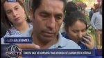 Fredy Otárola: taxista quedó en libertad y reiteró inocencia - Noticias de luis alberto otarola