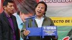 Toledo propone invertir directamente en comunidades campesinas - Noticias de conflictos sociales en perú