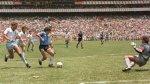Hoy se cumplen 29 años del 'Gol del siglo' y 'la mano de Dios' - Noticias de maradona