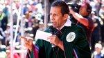 Ollanta Humala: Golpes a Nadine son parte de campaña electoral - Noticias de impacto ambiental