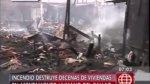 Callao: incendio dejó 300 damnificados en asentamiento humano - Noticias de alimentos perecibles