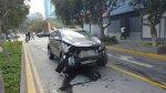 San Isidro: camioneta chocó contra kiosko y local de fast food - Noticias de comisaría de san andrés