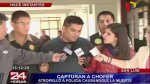 Cae chofer que huyó tras atropellar y matar a policía en SJM - Noticias de papeletas de transito