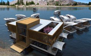 Lleva tu habitación a cualquier lugar en este hotel flotante