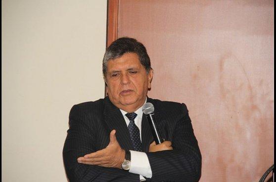 Caso Petroaudios: el interrogatorio de Alan García en imágenes