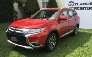 Mitsubishi presentó la nueva Outlander