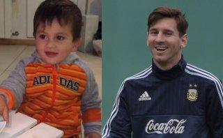 "Thiago Messi le cantó ""cumpleaños feliz"" a su padre (VIDEO)"